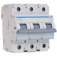 Трехполюсный автоматический выключатель Hager 10kA 80-125А