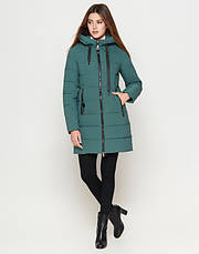 Braggart Youth | Зимняя женская куртка 25125 зеленая, фото 2