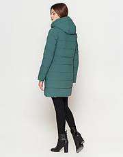 Braggart Youth | Зимняя женская куртка 25125 зеленая, фото 3