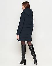 Braggart Youth | Куртка женская на зиму 25435 темно-синяя, фото 3
