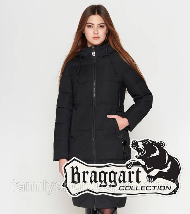 Braggart Youth | Длинная женская куртка 25495 черная