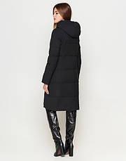 Braggart Youth | Длинная женская куртка 25495 черная, фото 3