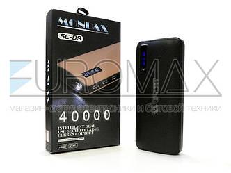 Внешний аккумулятор (power bank) MONDAX 40000мАч (6000мАч) SC-09M