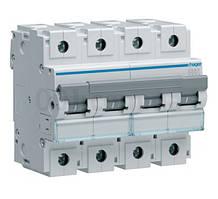 Четырехполюсный автоматический выключатель Hager 10kA 80-125А
