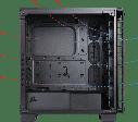 "Корпус Corsair Crystal 460X Black (CC-9011099-WW) ATX/mATX/mITX ""Over-Stock"" Б/У, фото 3"