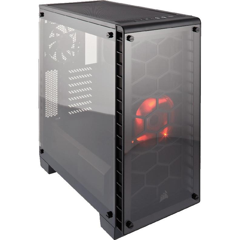 "Корпус Corsair Crystal 460X Black (CC-9011099-WW) ATX/mATX/mITX ""Over-Stock"" Б/У"
