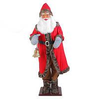 Музыкальный Дед Мороз 185см (музыка, танцует, кланяется)
