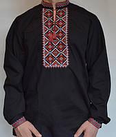 Мужская вышитая рубашка  с длинным рукавом