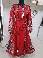 Платье вышиванка Життя 37 чер  1черПд3Ол31