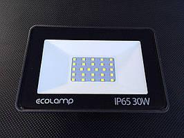 Светодиодный Прожектор 30Вт 2700Lm, IP65