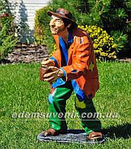Садовая фигура Нищий, фото 3