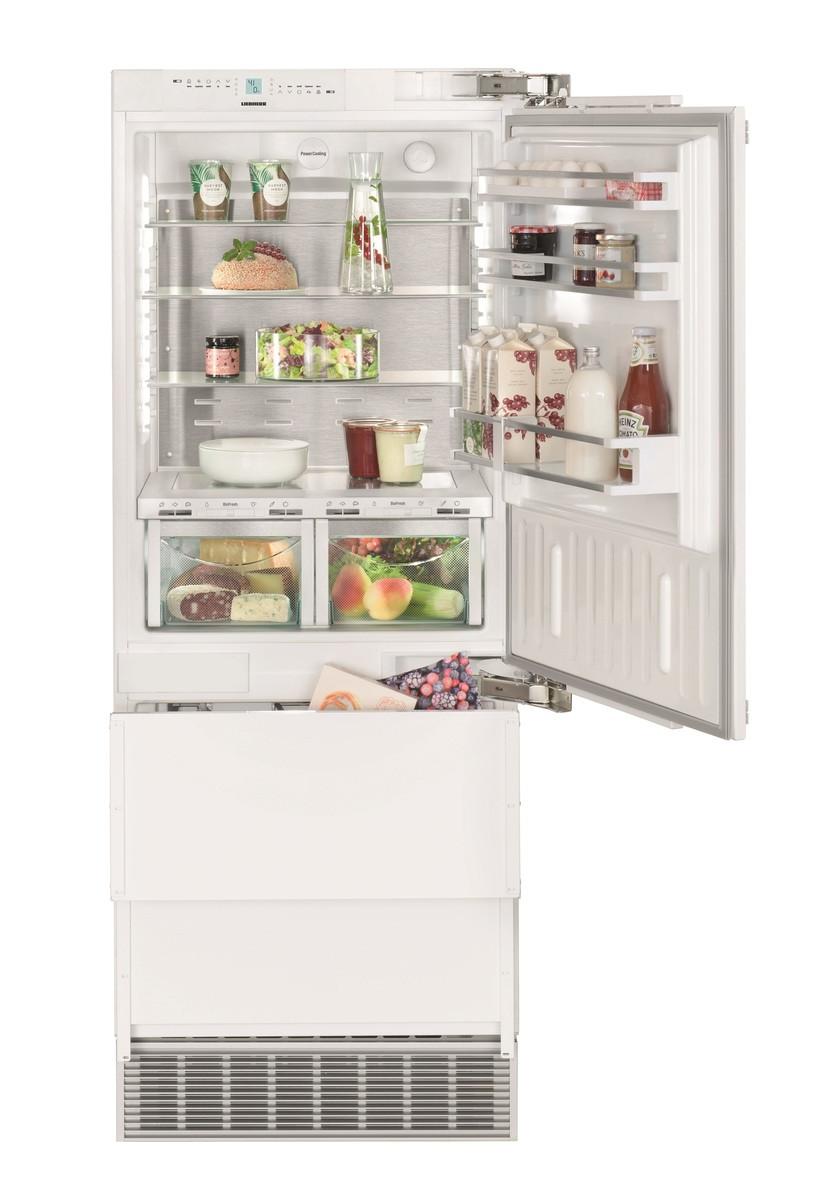 Встраиваемый трехкамерный холодильник Liebherr ECBN 5066-22 PremiumPlus