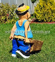 Садовая фигура Фермер, фото 3