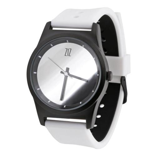 Наручные часы на силиконовом ремешке Mirror белые (4100345)