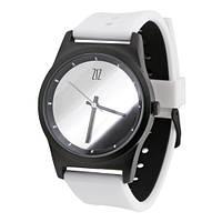 Наручные часы на силиконовом ремешке Mirror белые (4100345), фото 1