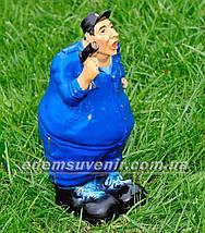 Садовая фигура Гаишник, фото 3