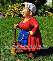 Садовая фигура Солоха, фото 2
