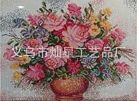 """Алмазная вышивка """"Букет цветов в вазе"""""""