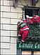 Декоративная фигура Дед Мороз на светящейся лестнице LED гирлянде 60 см , фото 5