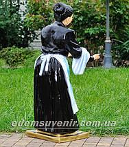 Садовая фигура Официантка, фото 3