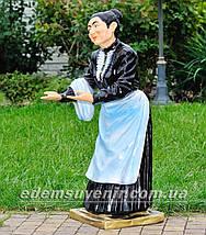 Садовая фигура Официантка, фото 2