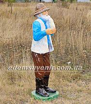 Садовая фигура Пастух, фото 3