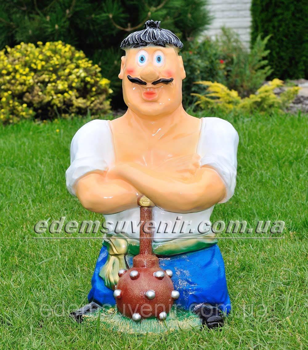 Садовая фигура Козак с булавой