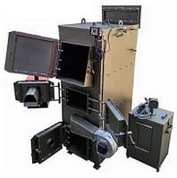 Пиролизный котел на дровах DM-STELLA 50 кВт с автоматическим золоудалением