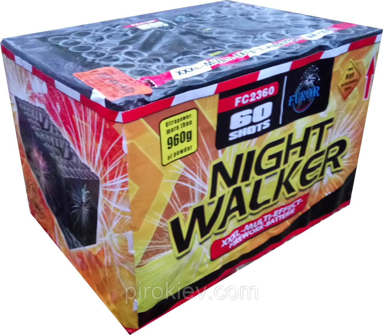Салют NIGHT WALKER FC2360 (60 выстрелов 25-30 мм.)