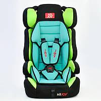 Автокресло универсальное Joy 9-36 кг Черно-зеленый (GBE -000012)