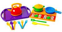 Игровой набор посуды Юная хозяюшка  048/5 Bamsic