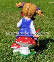 Садовая фигура Девочка с арбузом, фото 3