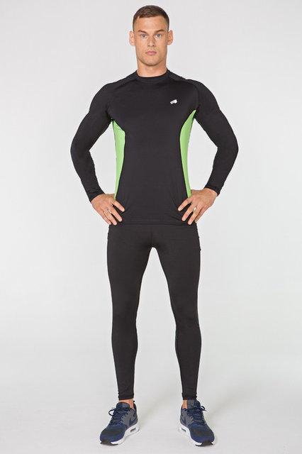 Чоловічий спортивний костюм для бігу Radical Intensive компресійна спортивний одяг, тайтсы+рашгард