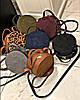 Круглый женский клатч TopS, разных расцветок Код ск-01