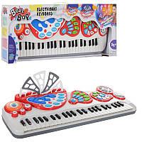 Синтезатор 2071-NL  49клавиш,муз,свет,запись,8 ритм,8 инструм,рег.громкости