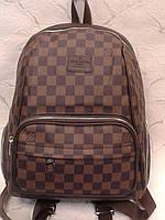 Рюкзак городской стильный молодежный коричневый (Турция)