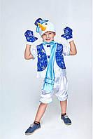 Снеговик в жилете детский карнавальный костюм, фото 1