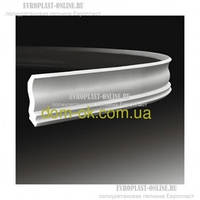 Интерьерный полиуретановый карниз Европласт 1.50.105 дюрополимер