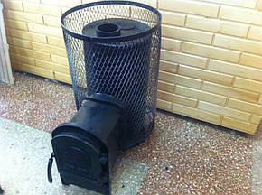 Печь для сауны PR-18 L c выносной топкой, фото 2