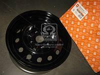 Диск колесный стальной 15х6,0 4x114,3 ET45 DIA56,6 CHEVROLETLACETTI черный (ДК) (224.3101015-04)