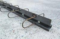ПДШ  Омега-профіль Ѡ-120 : висота (h) 120мм, довжина (l) 3м/2,4м товщина металу (s) 2,5мм., шов до 15мм