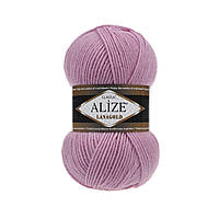 Пряжа для вязания Alize Lanagold 98 розовый (Ализе Лана голд)