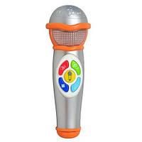Микрофон 2052 NL  звук, свет, на батарейке