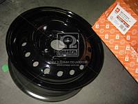 Диск колесный стальной 13х5,0 4x100 ET49 DIA56,56 DAEWOO Lanos черный (ДК) (Т1301-3101015-02)