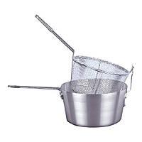 Корзина для фритюра нержавеющая сталь 9,5 л 28,5 см