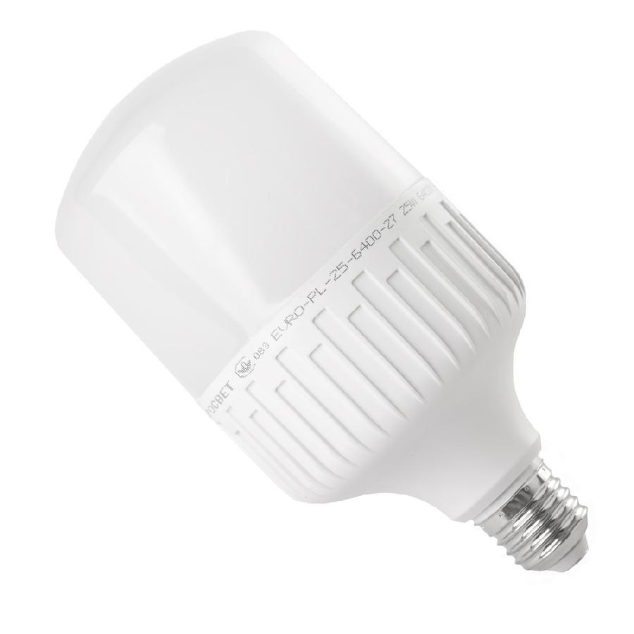 Лампа светодиодная высокомощная 25Вт 6400К EVRO-PL-25-6400-27 Е27