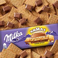 Milka Schoko & Keks Chocolate молочный шоколад c печеньем 300 г