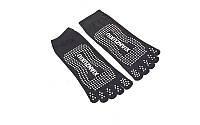 Носки для йоги и танцев с пальцами SP-Planeta FI-4945 (черный)