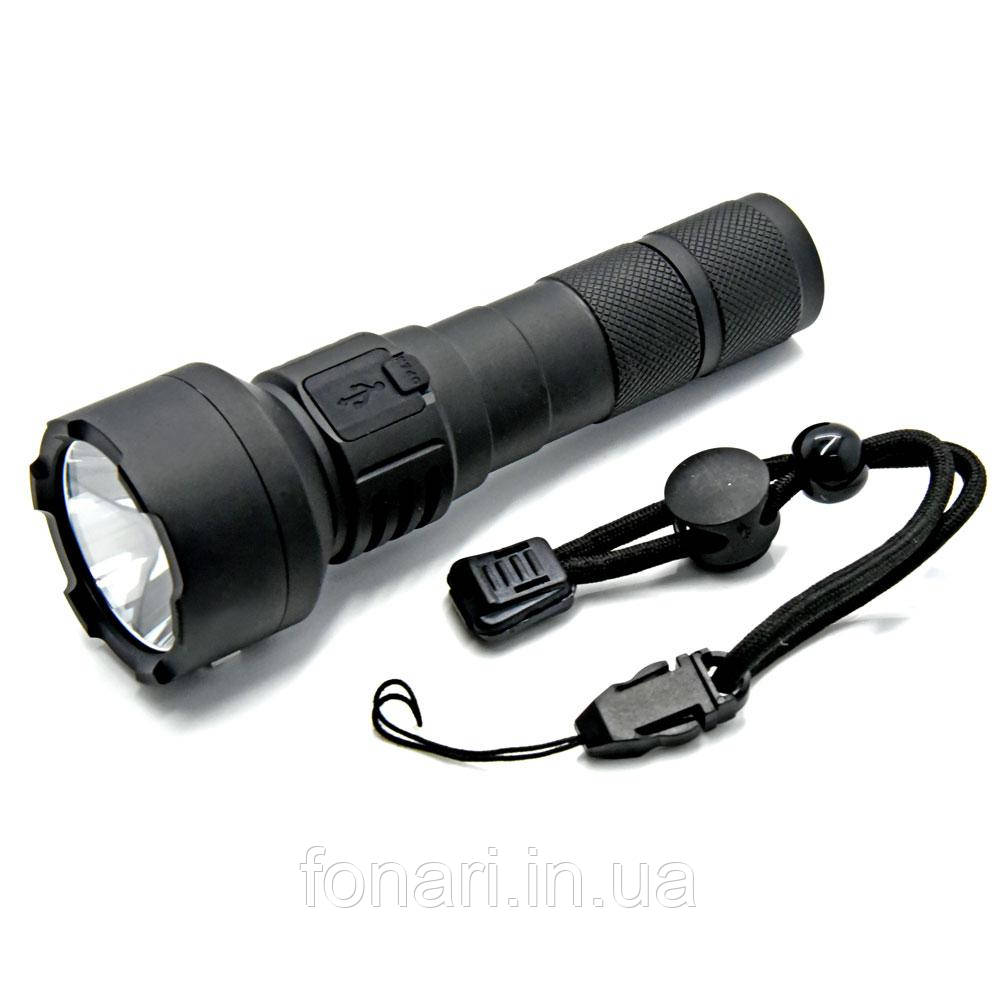 Фонарь Soshine TC15 USB Cree XMK T6, 1x18650 (перезаряжаемый) 1100 люмен