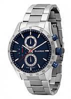 Чоловічі наручні годинники Guardo P11675(m) SBl